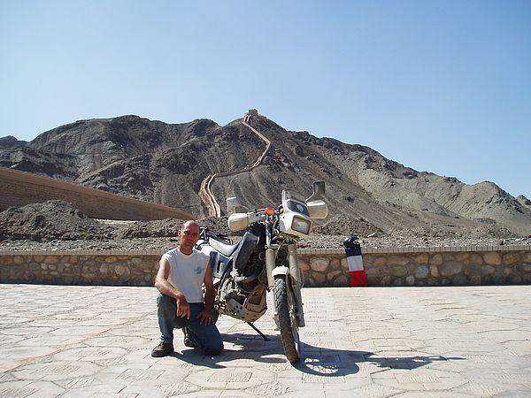 J'ai réalisé ce rêve fou de parvenir en moto à la Grande Muraille de Chine via la Route de la soie