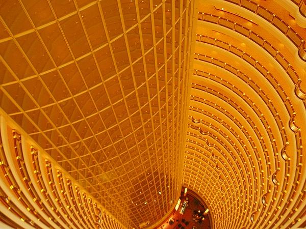Tour Jin Mao intérieur